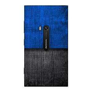 Gorgeous Blue Black Print Back Case Cover for Lumia 920