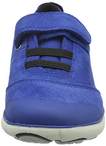 Geox Jungen J Nebula Boy A Low-Top Blau (ROYAL/BLACKC0042)