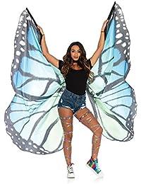 Leg Avenue Festival Butterfly Wing, Black/Blue
