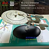 RIAN DAY Spacecraft Model Toys Star Trek Enterprise Diecast Metal Spacearaft Model Toy for Gift/Collection/Decoration