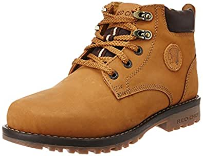 Redchief Men's Rust Leather Trekking and Hiking Footwear Shoes - 10 UK (RC2702 022)