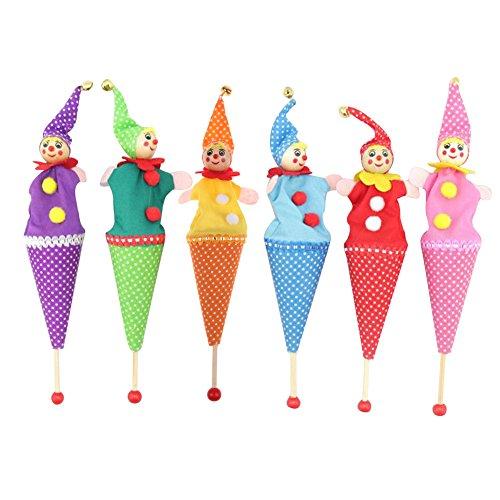 Domybest Ausziehbar Lächelnden Clown verstecken suchen Baby Kinder Spielzeug (Zufällige Farben)