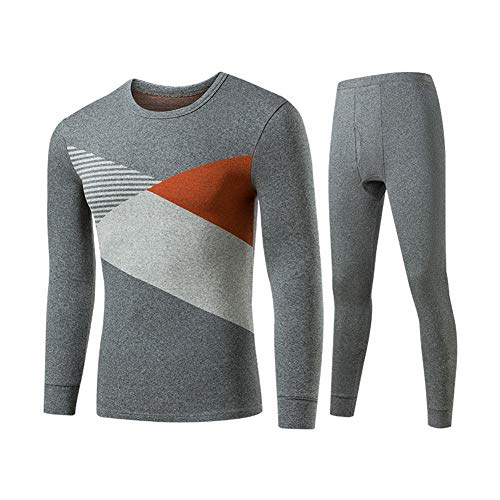 3dff96149acd6 Zzzzy Men Thermal Underwear Set Winter Warm Slim Clothes Set Long Tops and  Pants,Suave