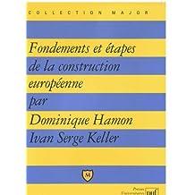 Fondements et étapes de la construction européenne