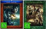 Der Hobbit: Teil 1+2 als Extended Edition * Blu-ray Set (Eine unerwartete Reise + Smaugs Einöde)