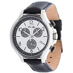 Misaki–Reloj de pulsera analógico para mujer cuarzo piel qcrwbeta de l