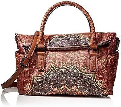 Desigual Bag Tekila Sunrise Loverty, Bolso Plegable para Mujer, ,