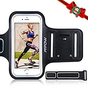 Mpow iPhone 7 Plus / 6s Plus / 8 Plus / 6 Plus Running Sport Armband for Samsung Galaxy S8, S8 Plus, S7 edge, S6 edge (Up to 5.5