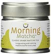 Morning Matcha Classic Grade Matcha Tea 30g tin