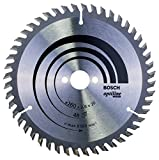 BOSCH 2608640732 - Disco de sierra circular Optiline Wood 160x2.6x20/16D: 48WZ
