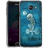Samsung Galaxy A3 (2016) Housse Étui Protection Coque Poker Crâne Mort