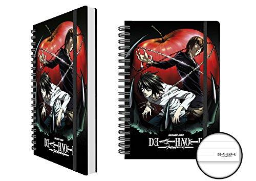 Death Note Apple licenza taccuino in pratico formato A5-dimensioni 15x 21cm