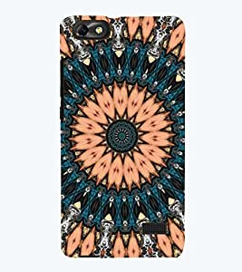printtech Multi Color Pattern Back Case Cover for Huawei Honor 4C::Huawei G Play Mini