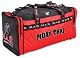 M.A.R International Ltd Muay Thai Kit Bag Mixed Martial Arts Holdall Training Sporttasche, Supplies Fitness Equipment Turnbeutel Gear