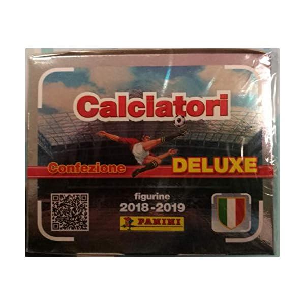 Altro Box 60 BUSTINE di Figurine CALCIATORI 2018-2019 Confezione Deluxe PANINI