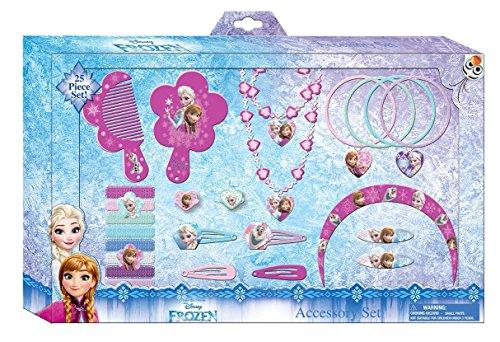 Kids Licensing–wd16031–Geschenk Set Haar–Grand Modeler–Frozen–25-teilig