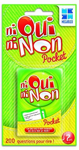 Megableu Kartenspiel für Reisen Ni Oui Ni Non, französische Ausführung
