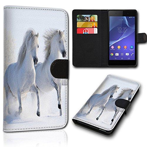 sw-mobile-shop Book Style Wiko Sunny 2 Plus Tasche Flip Brieftasche Handy Hülle Kartenfächer für Wiko Sunny 2 Plus - Design Flip SVH1152