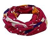 Les Femmes À La Main En Coton Tie & Colorant Dupatta Parti Indien Porter Châles Salwar Rose