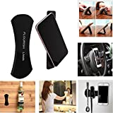 #9: Munchkin Land Flourish Lama, Fixate Gel Pads, 360 Car Kits Car Bracket Pods Holder, Amazing Rubber Sticker for Mobile Phone Holder Stand, No Trace Washable Sailor Sticker, Anti skid pads (Black)