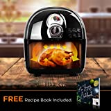 from Duronic Duronic Air Fryer AF1 /B 1500W Multicooker Mini Oven - Black - Recipe Book Included - Healthy Cooker Food Oven Model AF1 /B