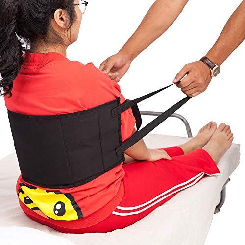 QEES ZYD01 Transferschlinge - Beweglicher Assistent Hebegurt Gurt Gerät Gepolsterte Griffe, Medizinischer Gürtel für Rollstuhl, Bett -