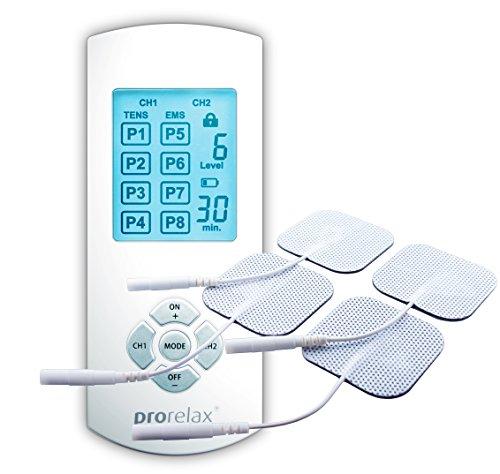Imagen de Electroestimuladores Musculares Prorelax por menos de 65 euros.