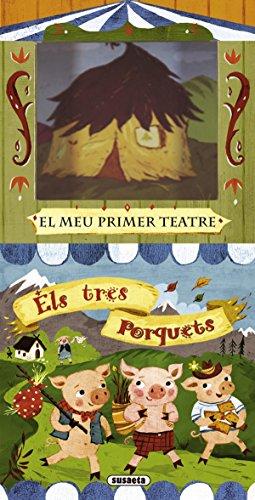 Els tres porquets (El meu primer teatre) por Equip Susaeta