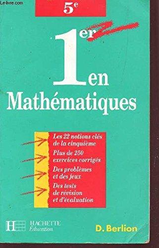 1er en mathématiques, CE2