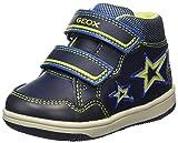Geox Baby Jungen B New Flick Boy E Sneaker, Blau (Navy/Lime), 21 EU