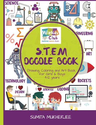 eBook Downloads For Android Free STEM Doodle Book: Drawing, Coloring and Art Book for Kids 4-12 years DJVU
