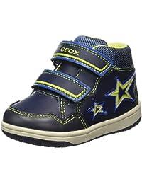 Geox B New Flick E, Sneakers Basses Bébé Garçon