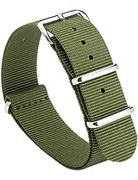 Gemony NATO Strap Prima balístico Nylon Correa de reloj 18mm/20mm/22mm
