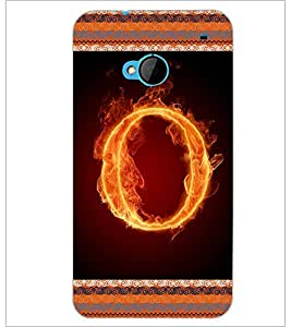 PrintDhaba GRANDbet O D-2543 Back Case Cover for HTC ONE M7 (Multi-Coloured)
