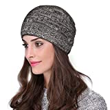 #10: Unisex knitted woven woolen beaniecap bob marley skull cap for men and women with fur inside