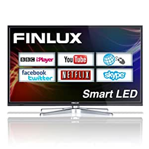Finlux 40F8073-T 40'' Smart LED Full HD TV with Web Browsing, Netflix, Skype, Freeview HD & PVR (discontinued by manufacturer)