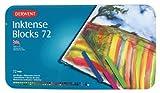 Derwent Inktense Blocks Watercolour Paints Tin - Set of 72