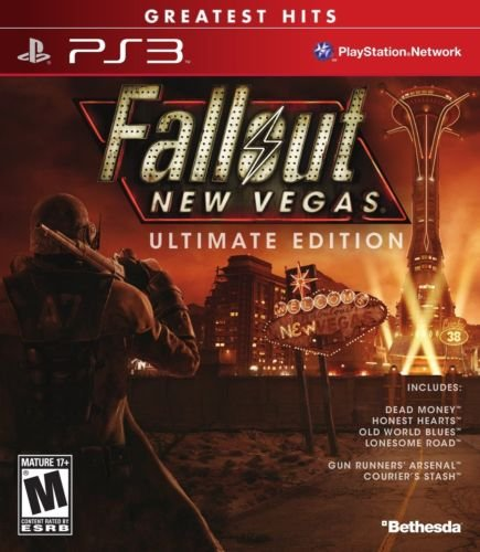 Fallout New Vegas: Ultimate Edition (Playstation 3 All BONUS Content) NEW (Tinkerbell Vase)