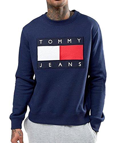 TOMMY HILFIGER Herren Sweatshirt Blau Marine 9fadbe5784