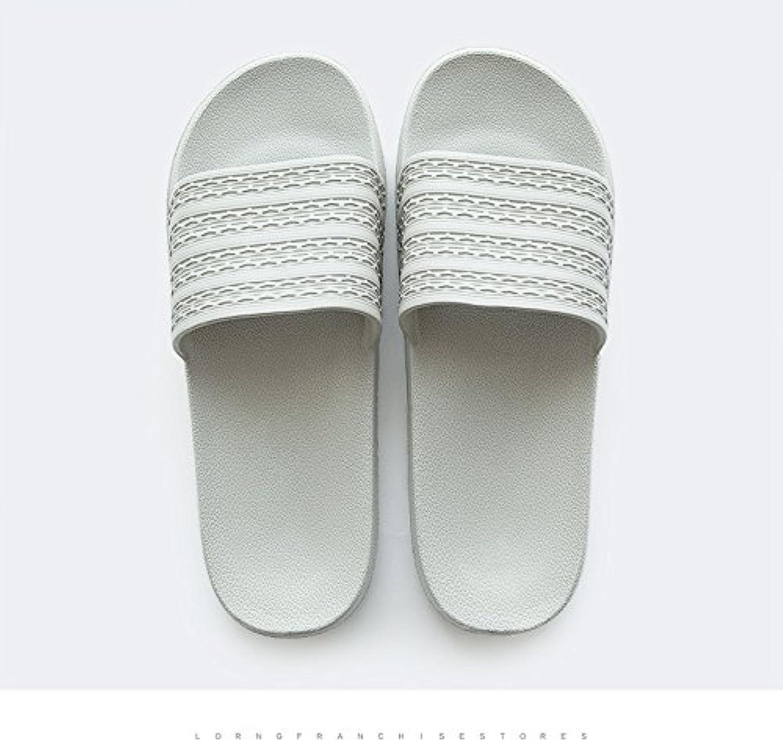 DogHaccd Zapatillas,Inicio baño baño zapatillas de verano parejas femeninas interior anti-deslizante de plástico...