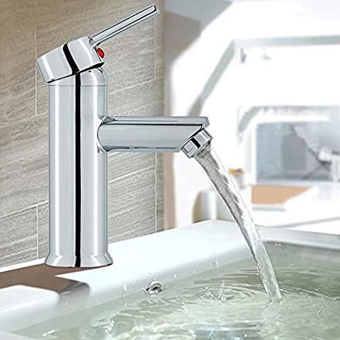Inchant Moderne Waschraum Becken Einhebel-Mischbatterien Waschtisch im Bad-Wannen-Bassin Einhand-Chrom-Messingmischer-Hahn