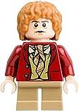 Lego Hobbit / Herr der Ringe Minifigur Bilbo Beutlin Baggins mit roter Weste - LEGO
