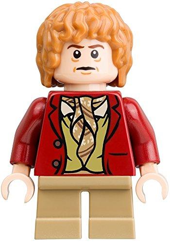 Lego Hobbit / Herr der Ringe Minifigur Bilbo Beutlin Baggins mit roter Weste