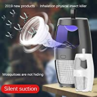 Fly and Insect Killer UV Light,bloatboy Bug Zapper Light Insect Killer Fly Zapper Fly Killer Fly Swatter Mini Pest Repellent for Mosquito/Flies/Small Flying Gnats,Indoor Home Kitchen Bedroom (White)