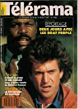 Télérama - n°1960 - 05/08/1987 - Danny Glover et Mel Gibson / L'Arme fatale...