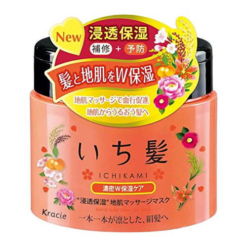 Ichigami Dense W Moisturizing Hair Care Mask - 180g