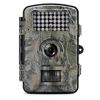 Aoleca Trail Camera, Wildlife Hunting Surveillance Game Camera 12MP 1080P HD Scouting Camera 2.4
