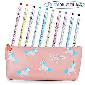Bolígrafos de unicornio para niñas,