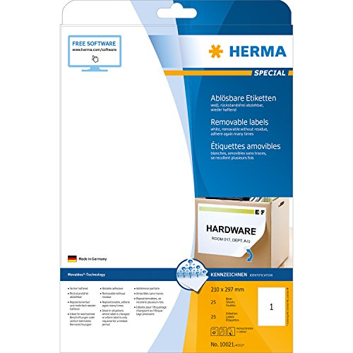 herma-10021-removable-labels-a4-210x297-mm-white-movables-removable-paper-matt-25-pcs