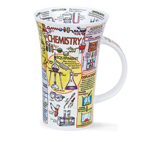 DUNOON Chemie Fine Bone China Tasse für Sekundarstufe I, eine Ebene, Grad, Lehrer,-Made in England Staffordshire Fine Bone China